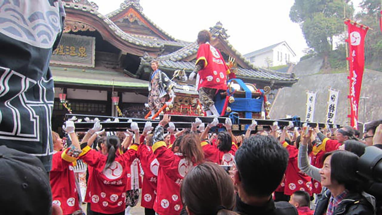 松山春祭り(道後温泉まつり)