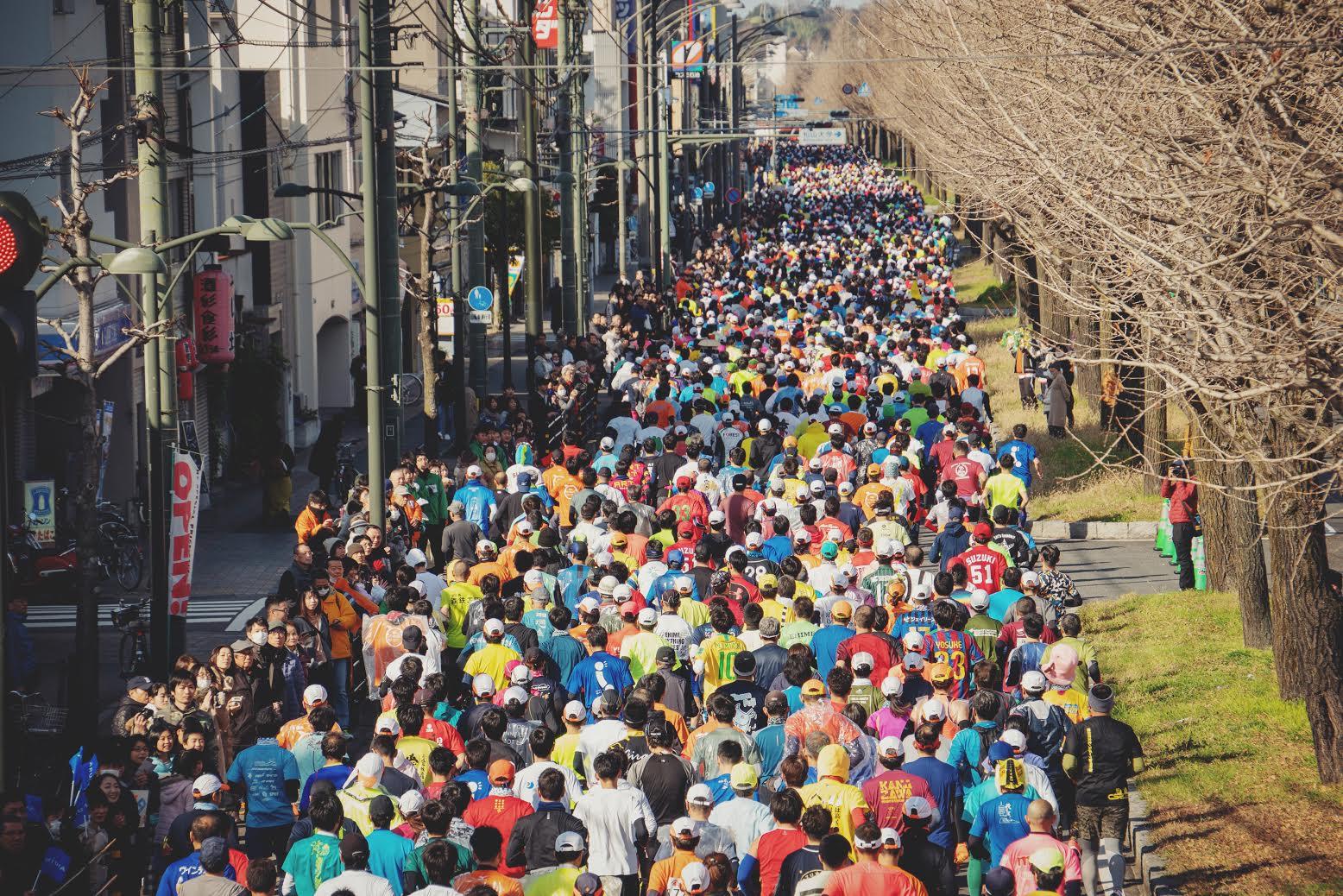 Facebookに「日本有数の市民マラソン!いよいよ!」の記事を投稿しました