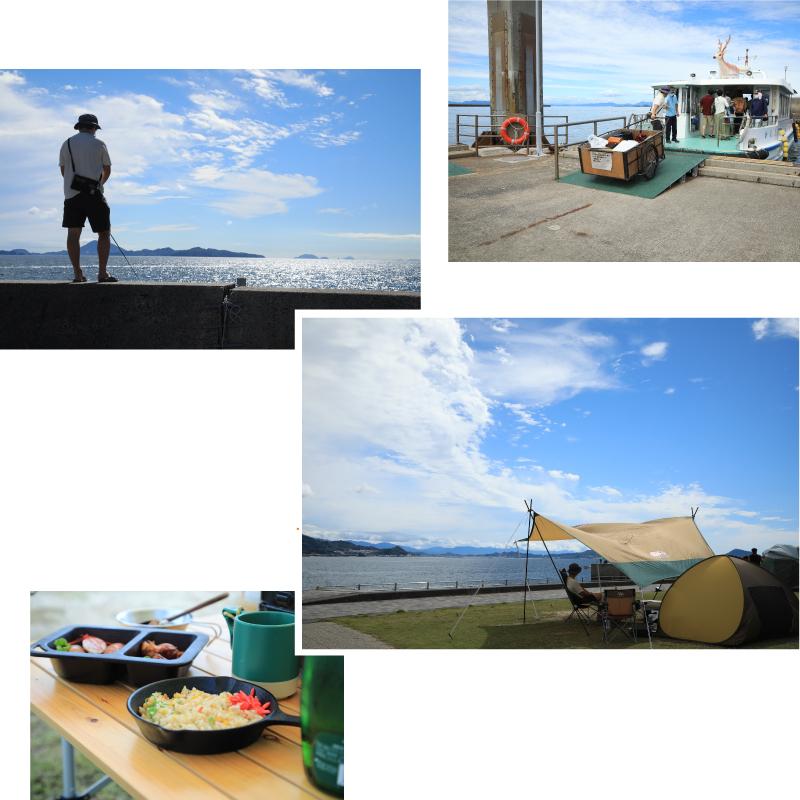 北条鹿島でキャンプ・魚つり