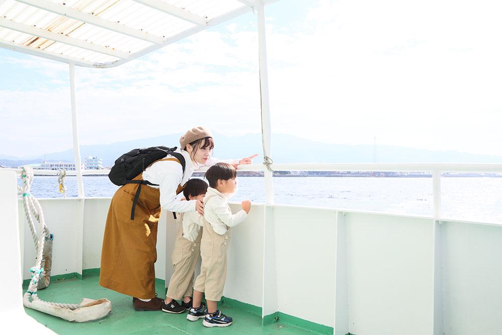 鹿島周遊船「愛の航路」